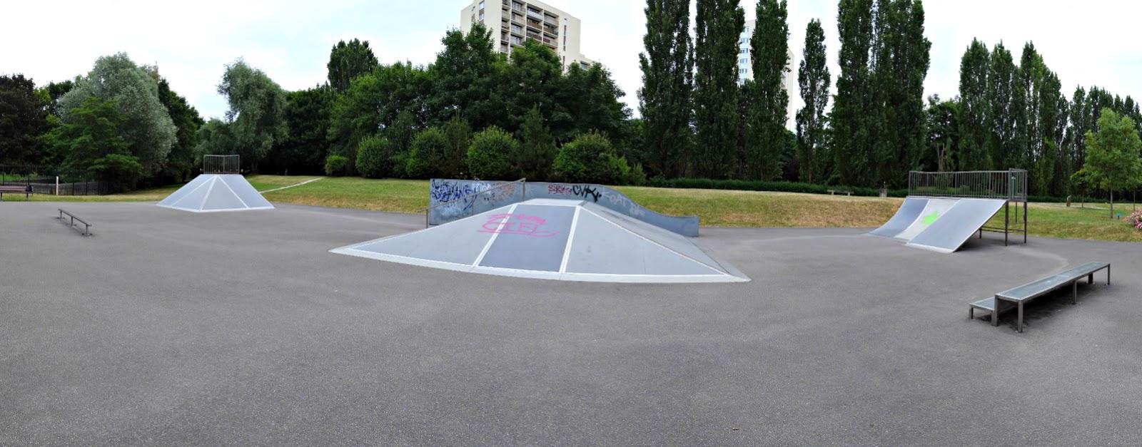 Le Skatepark De Verrires Buisson 91