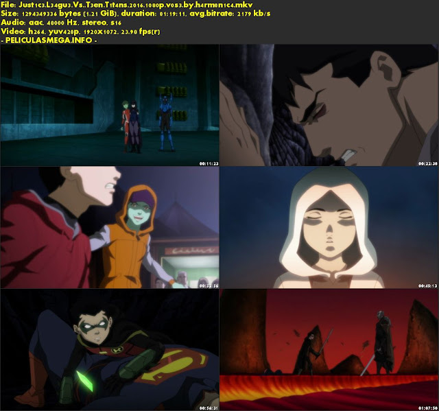 Descargar Justice League vs. Teen Titans Subtitulado por MEGA.