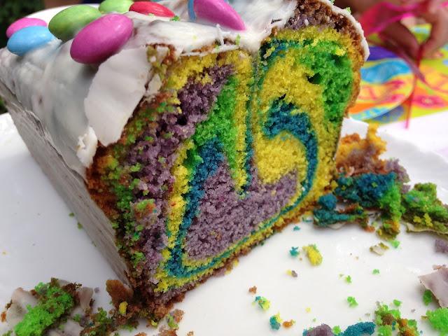 Papagei-Kuchen für Teenager-Geburtstag