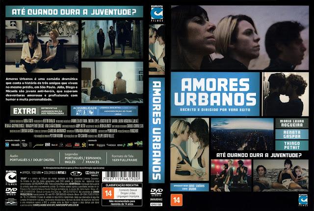 Capa DVD Amores Urbanos