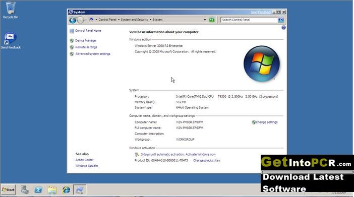 Windows Server 2008 R2 Free Download Full Version [32-64