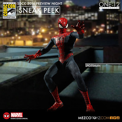 Mezco One:12 Collective Marvel Comics Spider-Man Figure