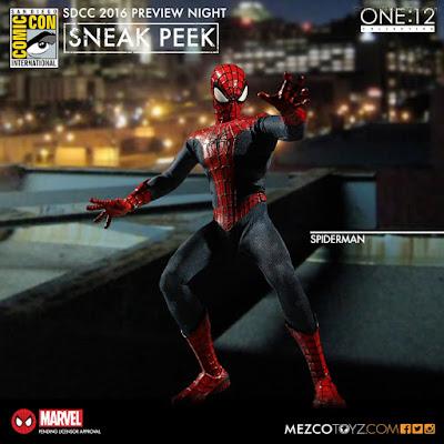 Mezco One:12 Collective Marvel Comics Spider-Man Figure