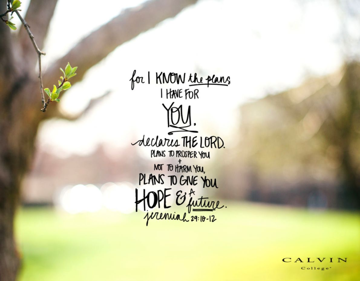 Spring Wallpaper With Bible Verses