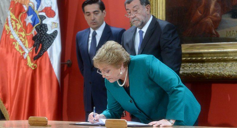 Presidente Michelle Bachelet