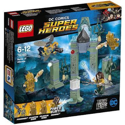 LEGO Super Heroes : Liga de la Justicia - 76085 Batalla en la Atlántida | 2017 | DC Comics |  PELICULA | caja JUGUETE