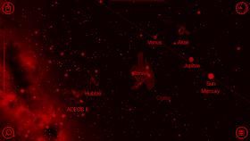 star walk app in night mode