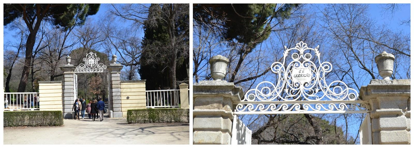 Pizquitas de todo parque el capricho for Jardin historico el capricho paseo alameda de osuna 25