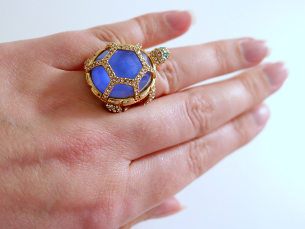 Kate Spade | Paradise Found Turtle Ring