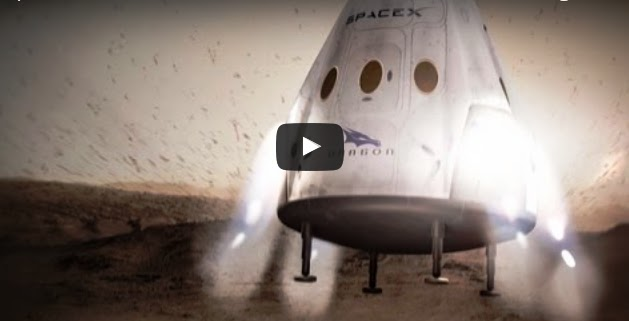 SpaceX- Plans to Land on Mars in  2018 Video