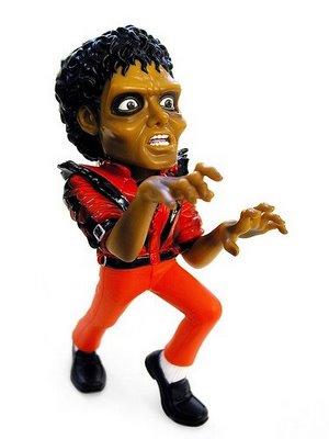 Muñeca o figura de acción con increíble parecido Michael Jackson