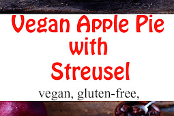 Vegan Apple Pie with Streusel