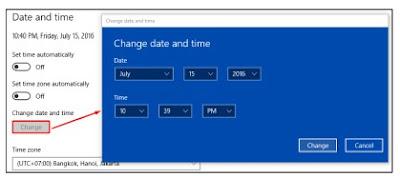 Cara Sukse Instal Aplikasi Dapodik Versi Terbaru Inilah Pengaturan Waktu Pada Komputer