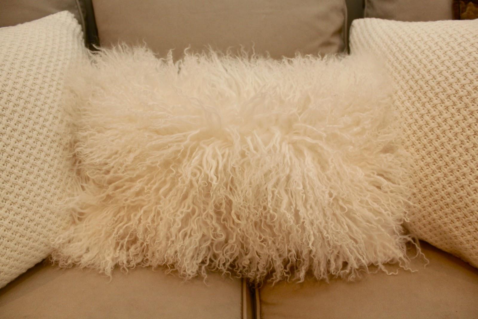 Sara Russell Velvet Fluffy Pillows