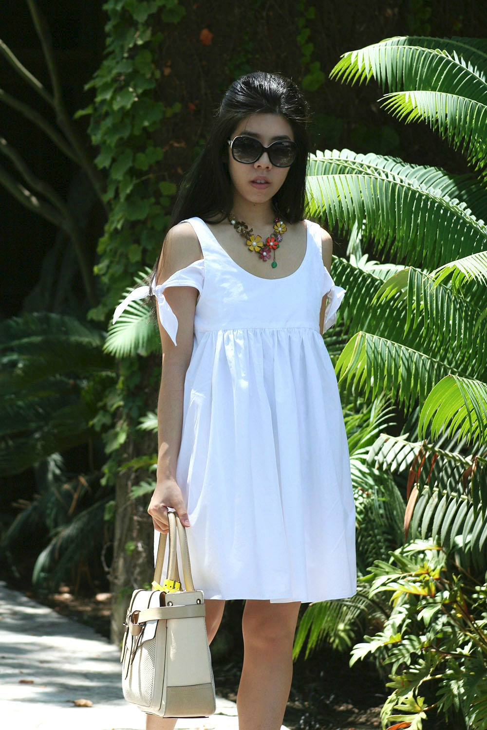 Adrienne Nguyen_Invictus_Petite Fashion Blogger_White Dress_Little White Dress_LWD
