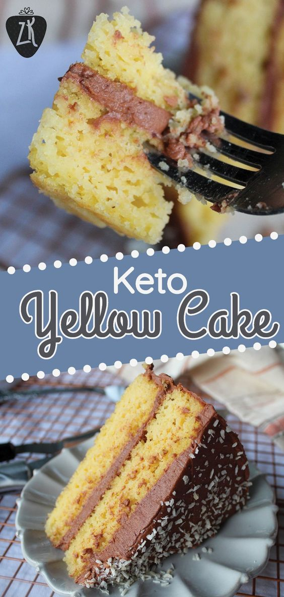 Keto Yellow Cake
