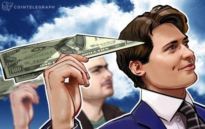Telegram thu về 850 triệu đô la cho vòng 2 Initial Coin Offering