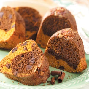 RecipeReview Chocolate Chip Pumpkin Cake