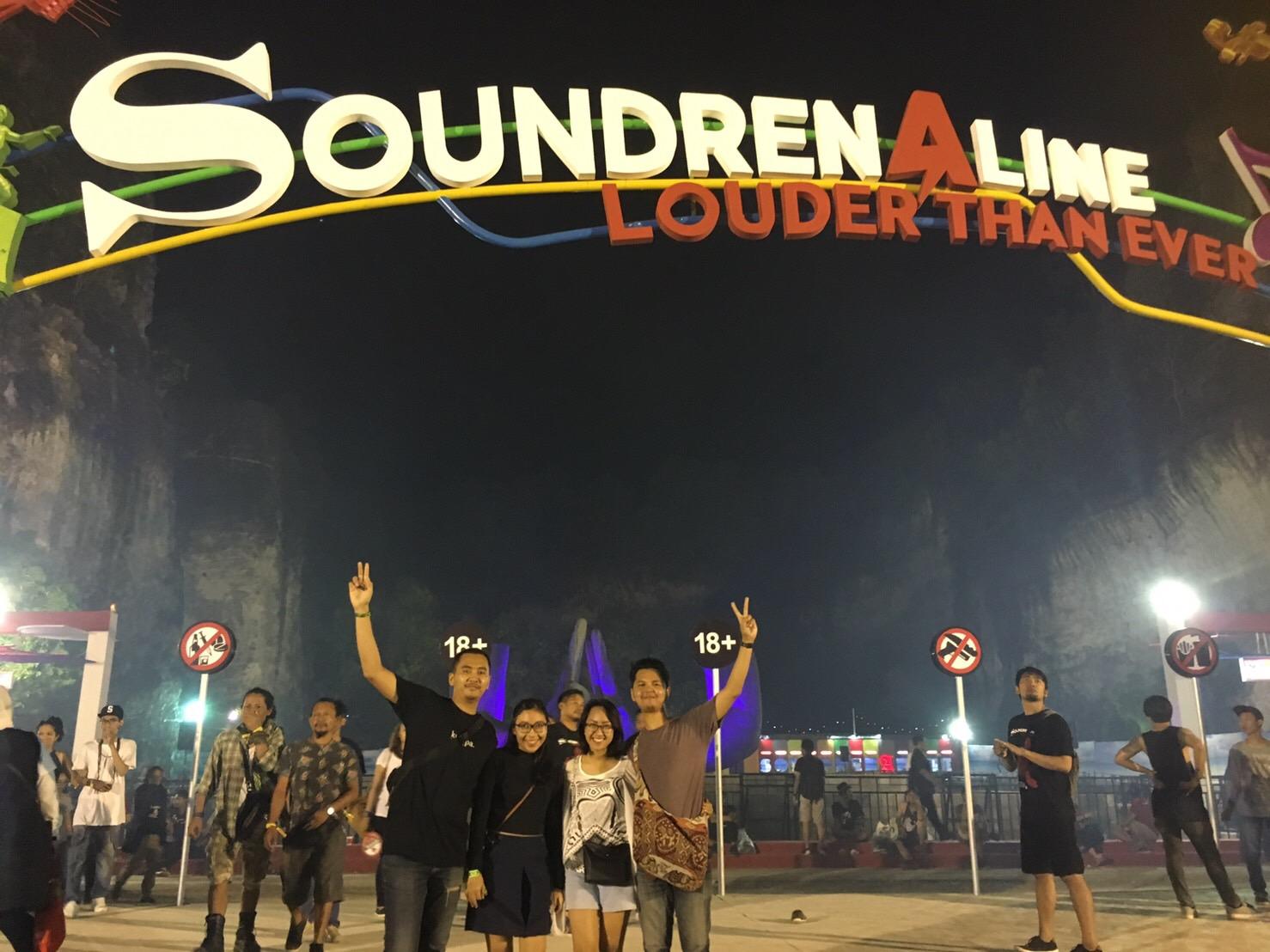 Jurnal Akhir Pekan Tiket Soundren Hingar Bingar Soundrenaline 2016