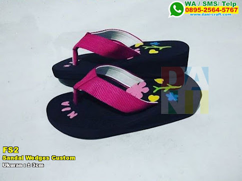 Sandal Wedges Custom