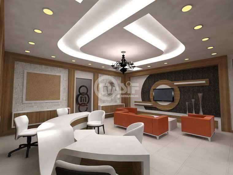 Top suspended ceiling designs, gypsum board ceilings 2018 - DIY