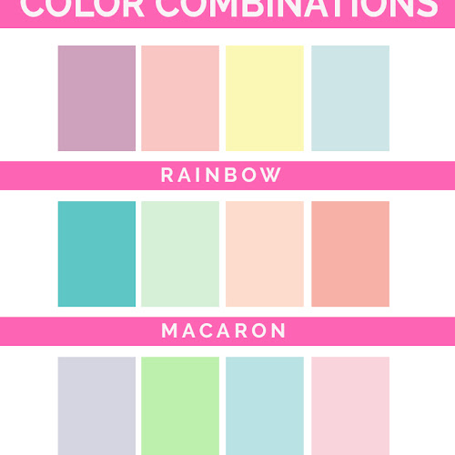 Favorite Pastel Color Palettes