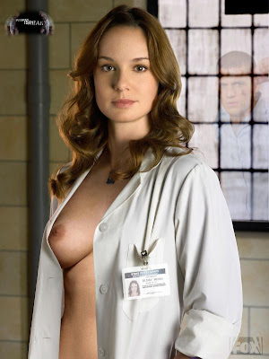TV1 Sarah Wayne Callies Nude Possing her Boobs Tits & Pussy Fake