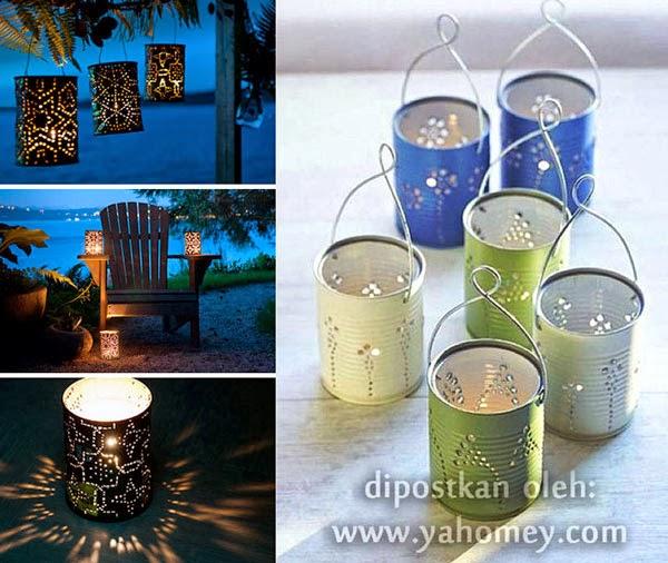 Membuat Lampion   Lentera dari Kaleng Bekas - Seputar Dunia Rumah a98371f6e0