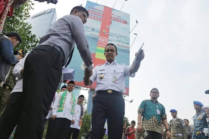 Demi Kemuliaan Ini, Gubernur Anies Baswedan Rela Lepas 964 Milyar