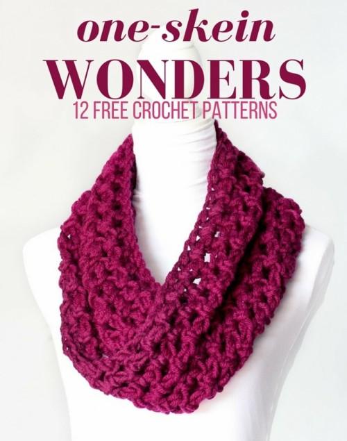 One-Skein Wonders - 12 Free Crochet Patterns