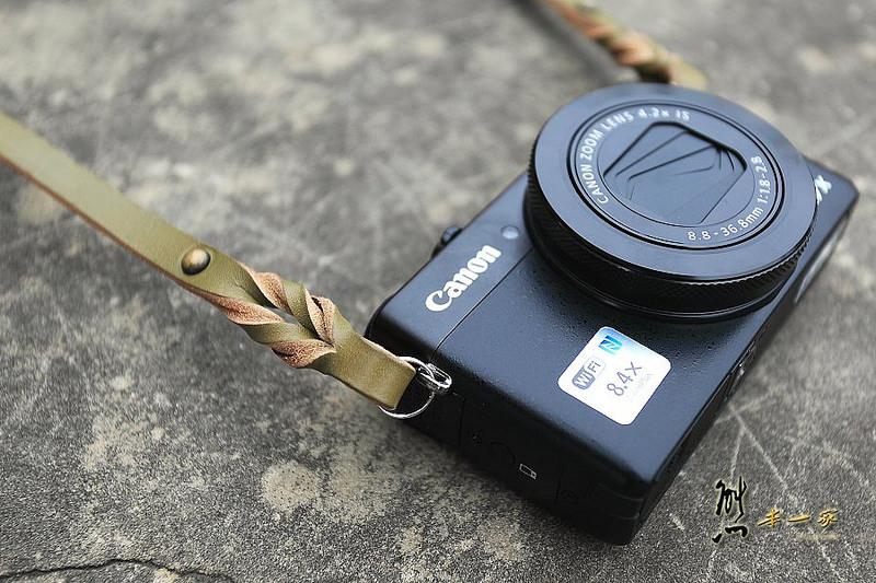 Canon G7X 皮革相機背帶|Canon相機包