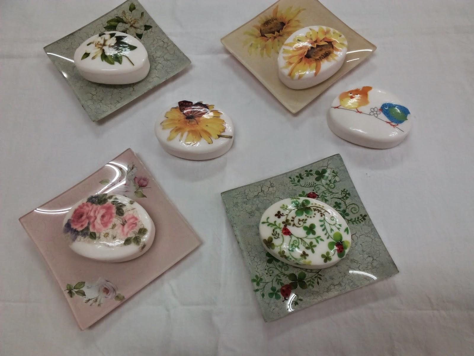 El rinc n de carmen y sus manualidades jabones con decoupage - Papel de arroz para decorar muebles ...