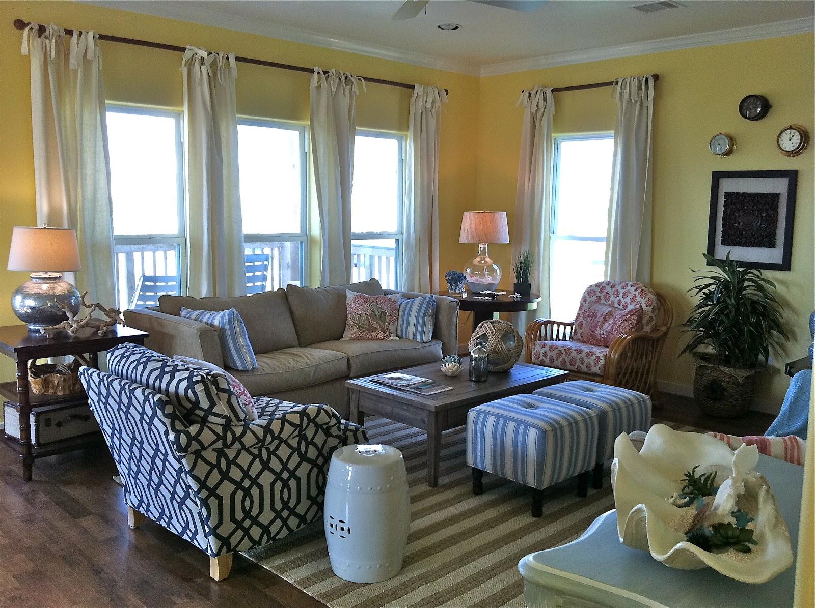 Kim armstrong 39 s interior design blog beach house bliss - Beach house living room ideas ...