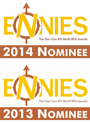 Two time ENnies Nominee