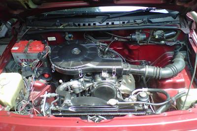 Foto Mesin Suzuki Vitara 4x4 Karburator