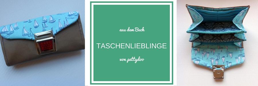 Portemonnaie, Buch, Taschenlieblinge, Pattydoo, selbst genäht, Loewchenzimmer, Löwchenzimmer
