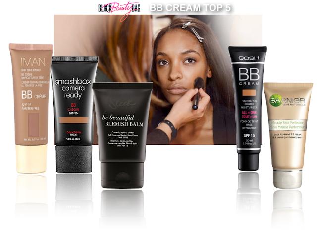 blackbeautybag blog beaut blog beaut noire mon top 5 des bb cremes pour peaux noires. Black Bedroom Furniture Sets. Home Design Ideas