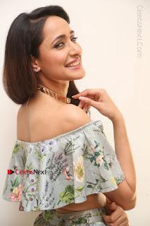 Actress Pragya Jaiswal Stills in Floral Dress at turodu Interview  0074.JPG