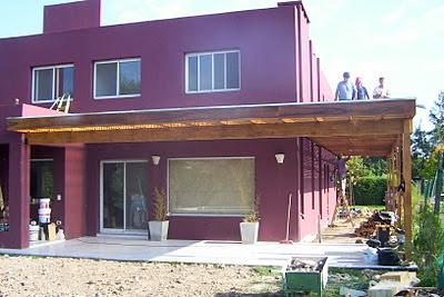 Zinka techos pergolas de madera y metalicas for Techos para galerias exterior