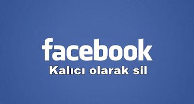 Facebook hesabı kalıcı olarak silme ve kapatma