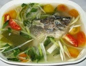 Resep Ikan Mujair Kuah Bening