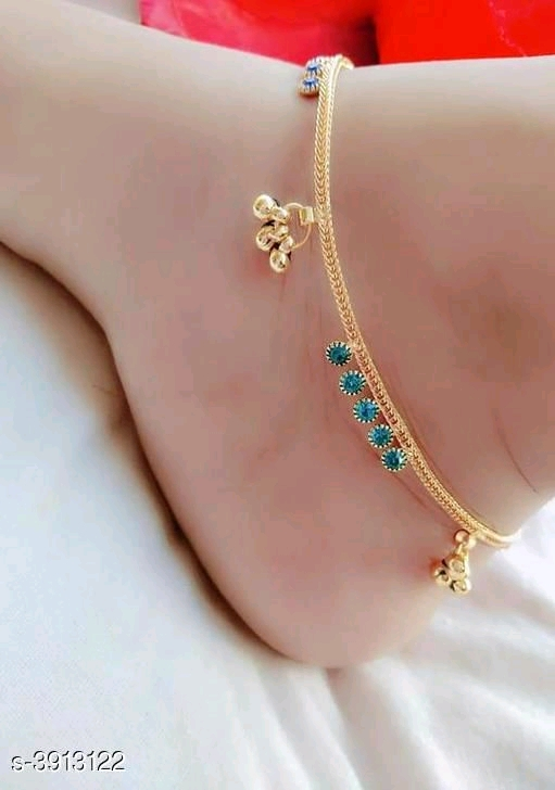 Beautiful alloy  Women's Anklets