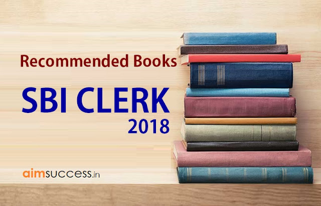 Recommended Books for SBI Clerk 2018