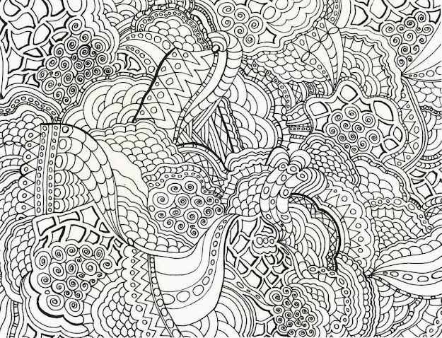 The Brilliant Hard Coloring Pages Printable