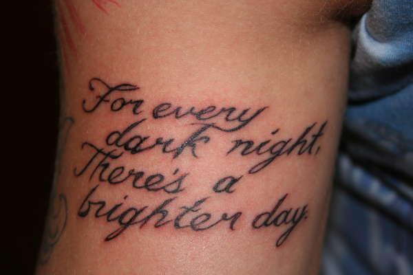 Quotes TattoosQuotes Tattoos For Men