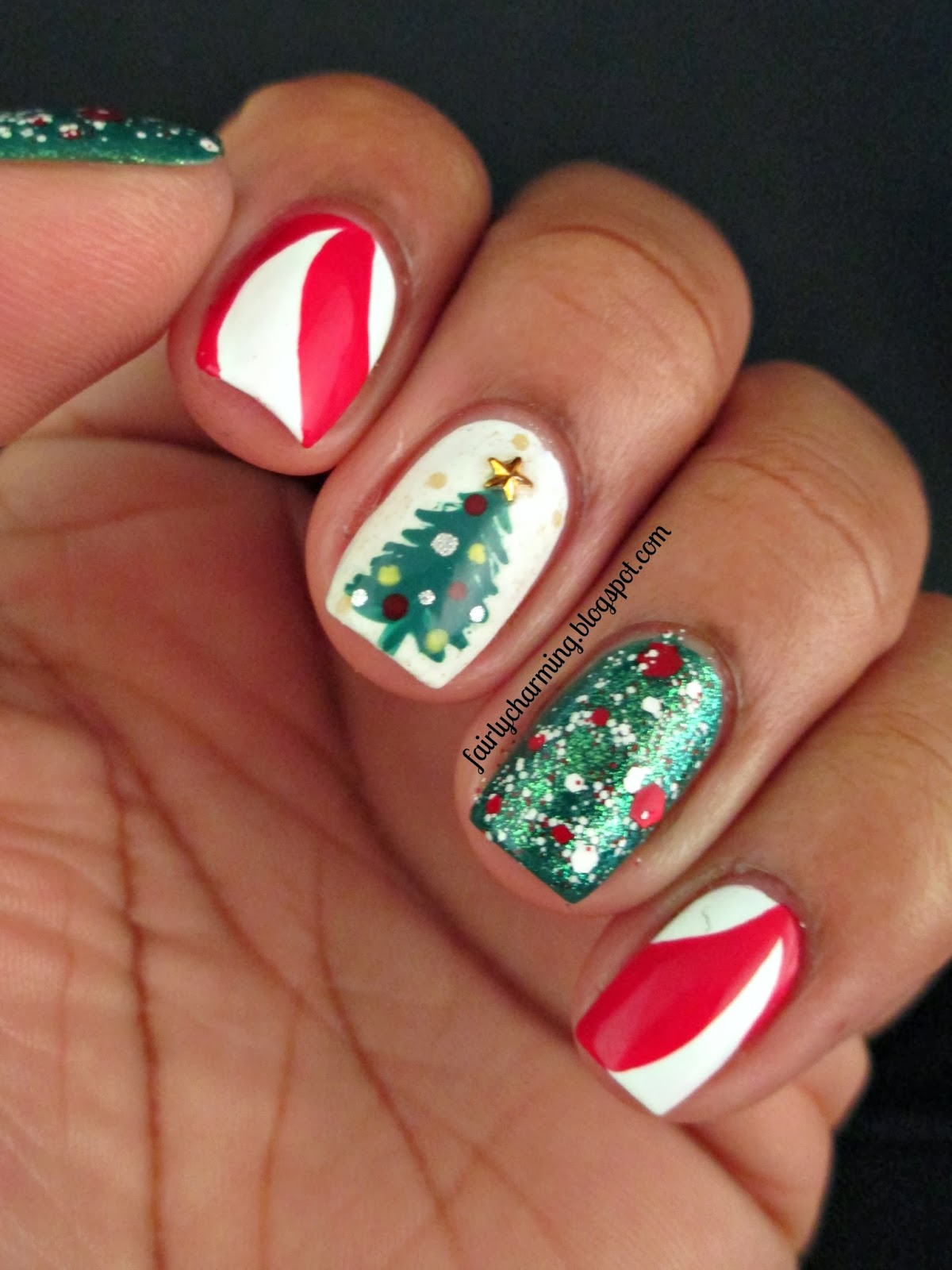 Fairly Charming: Peppermint Twists And A Tree... Oh My