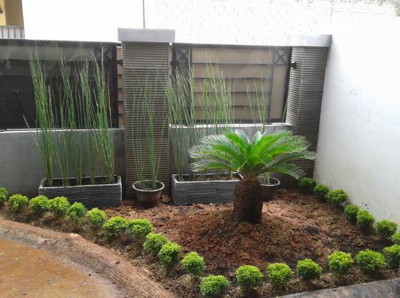 Ide Desain Taman Minimalis Depan Rumah Bertype 40 Travel Jaya