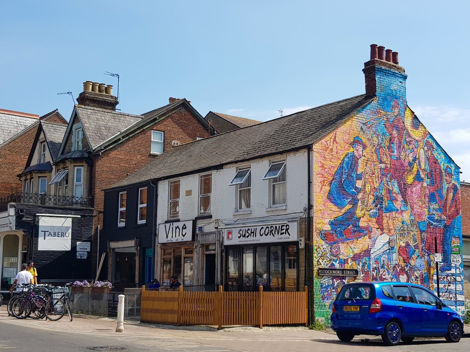 oxford travel local visit tourist cowley road street art