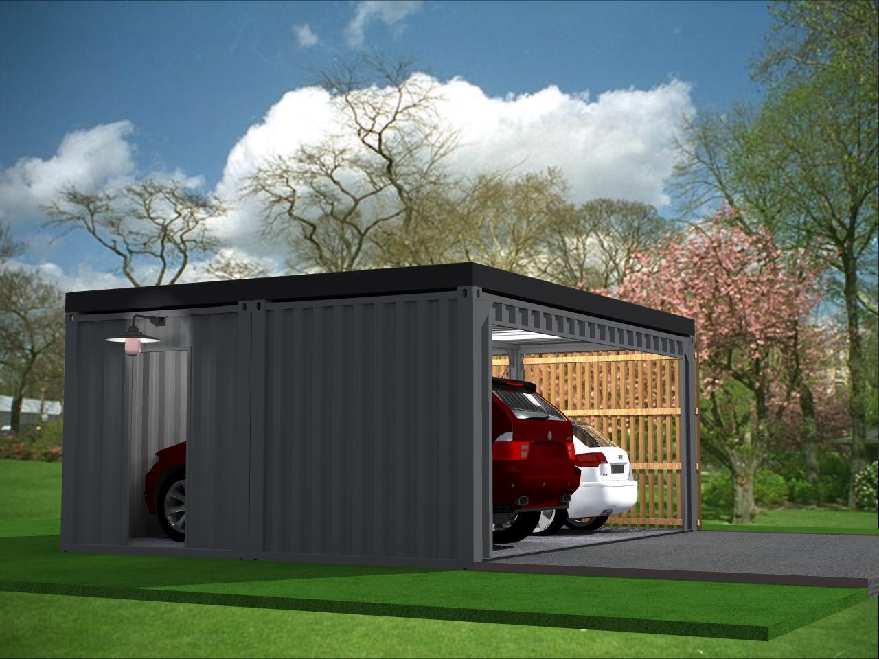 Vente de container garage joy studio design gallery for Garage top car marseille