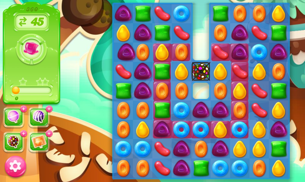 Candy Crush Jelly Saga 360